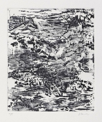 jennifer leigh caine Etchings intaglio