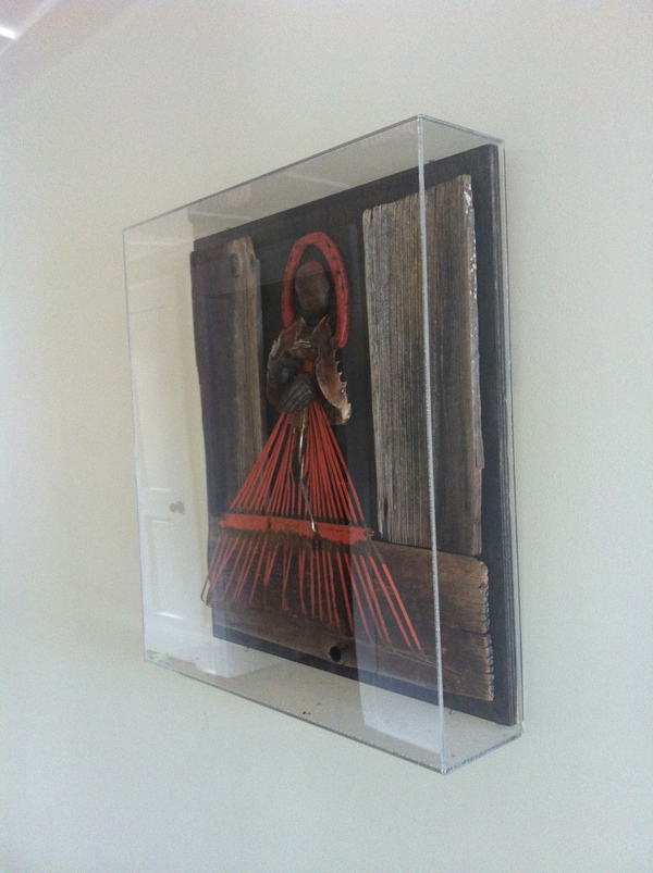 ICONS Pope (In plexiglass frame)