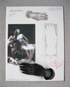 THE PARIS PROJECT Paper, photograph, bronze hand