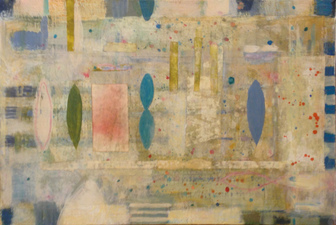 Joan K. Russell GRID mixed media