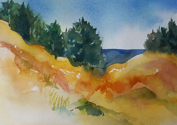 Local Places watercolor