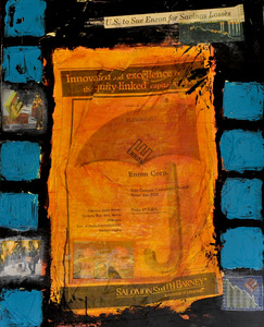 joanne amantea Irrational Exhuberance mixed media on canvas
