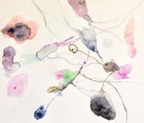 joanne amantea Abstract  watercolor