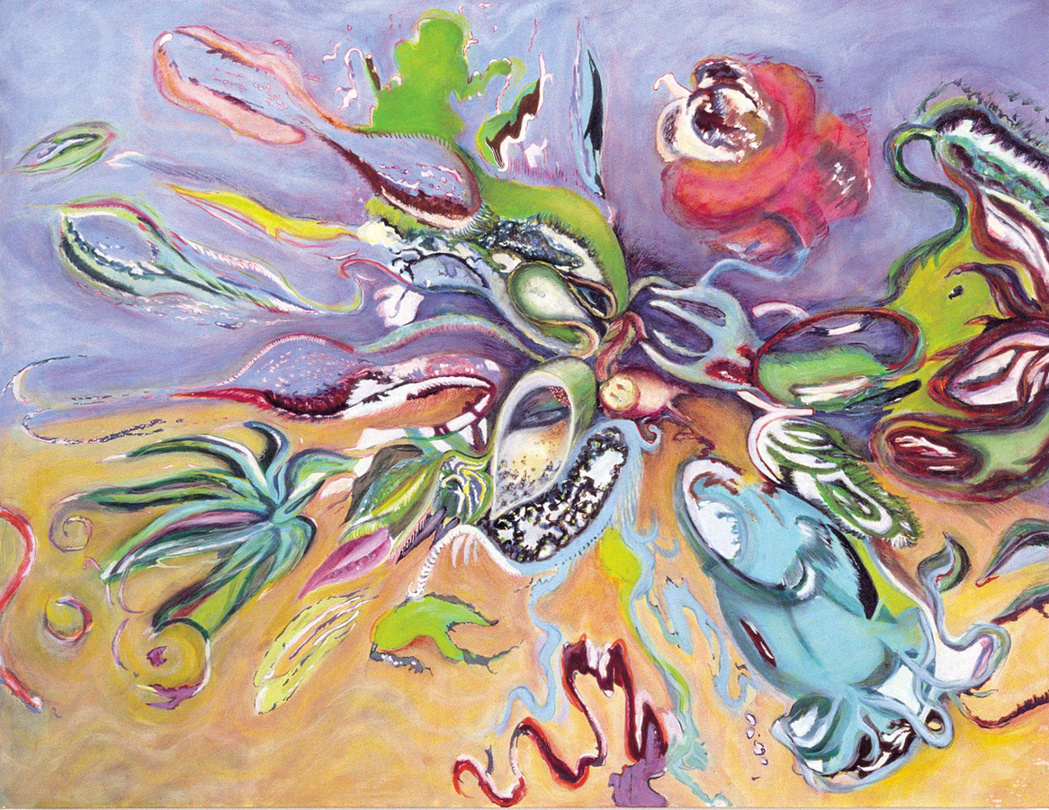 Terradaptions (oil)  Flying Landscape