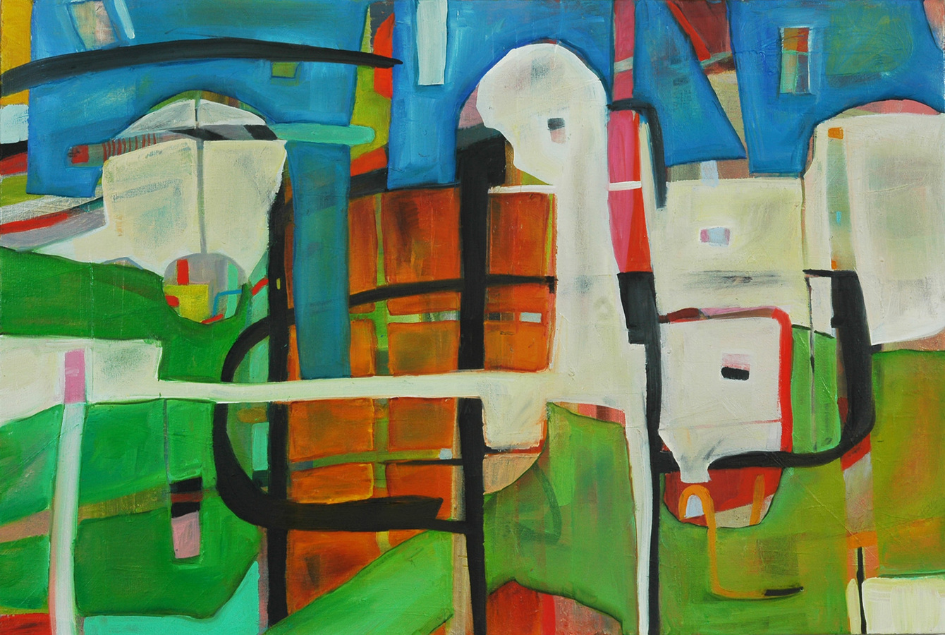 Paintings 2014-2015 Lost in Fez