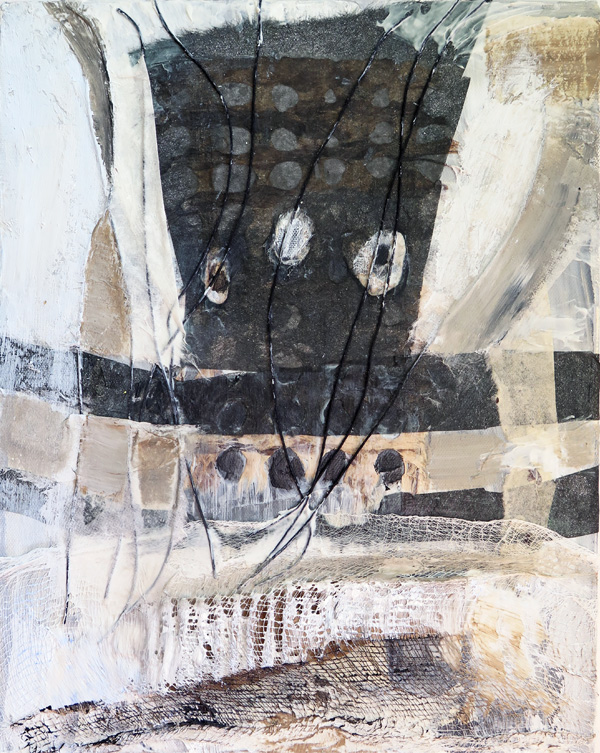 2015 Mixed Media and Collage From the Book of the Wind