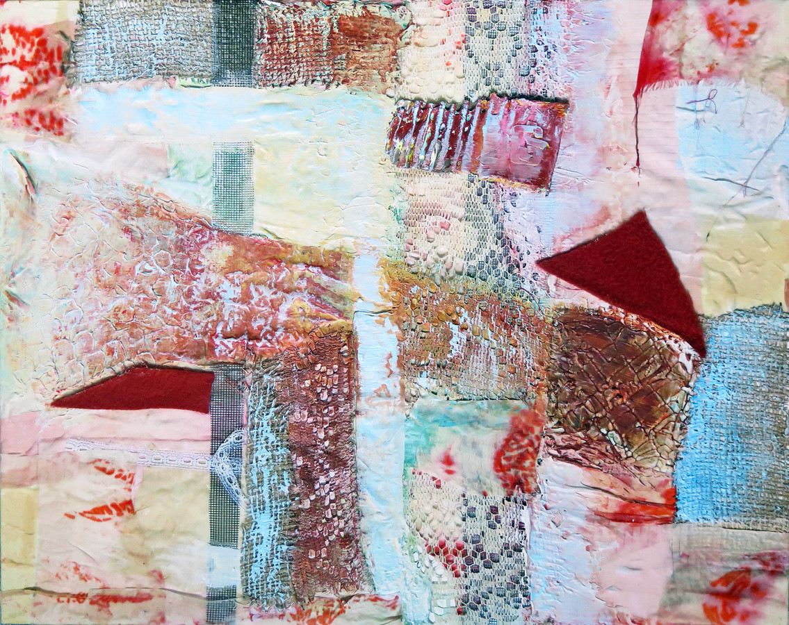 2015 Mixed Media and Collage Voyager