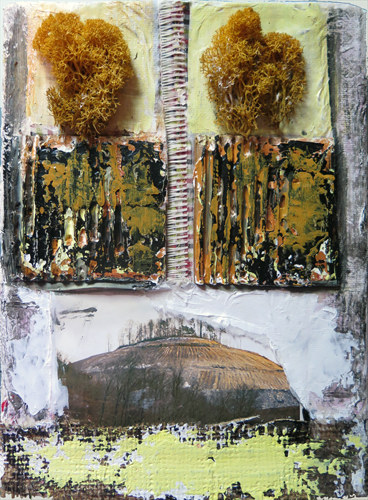2015 Mixed Media and Collage Twinned Landscape