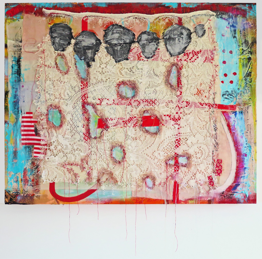 2016 Mixed Media and Collage American Sampler