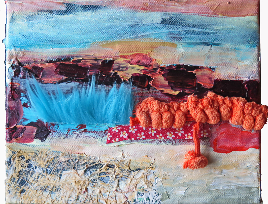 2016 Mixed Media and Collage April Landscape