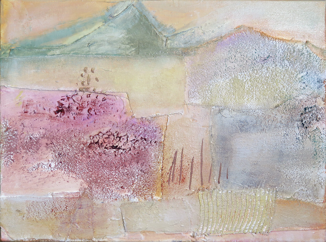 2016 Mixed Media and Collage The Desert