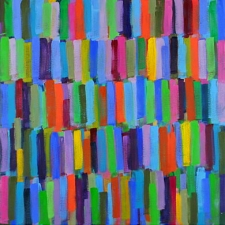 Jodie Manasevit Paintings 2002-2004 Oikl on Canvas