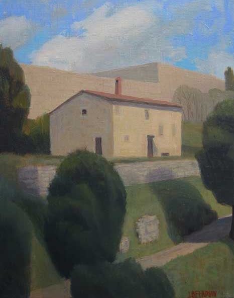 ITALY Stone House, Cortona Morning