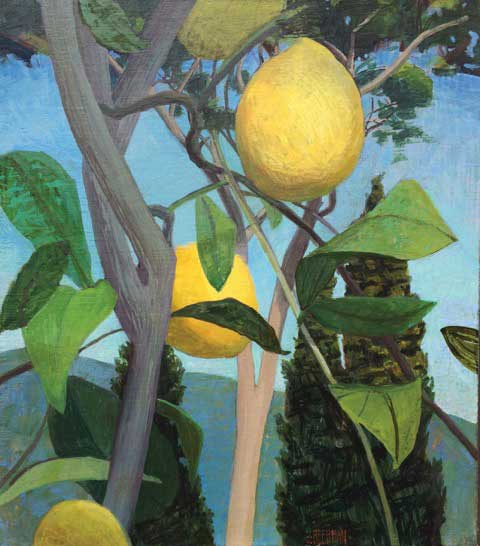 ITALY Bramasole Lemon Tree