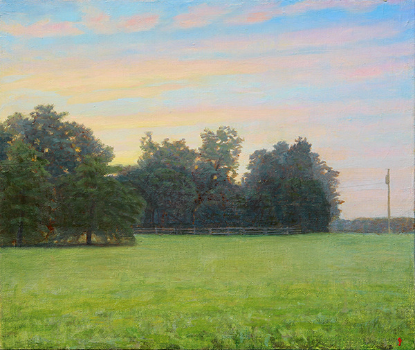 NEW WORK Six Acre Parcel Looking East, Summer Dawn