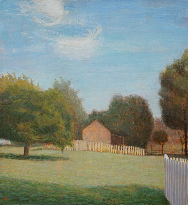 NEW WORK Chatwood Barn, October Afternoon