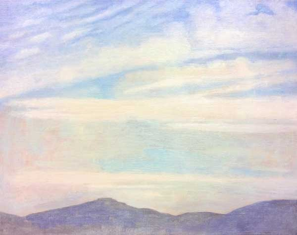 White Clouds, Cortona