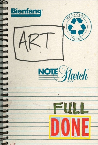 Ideas Art Notebook Full Done
