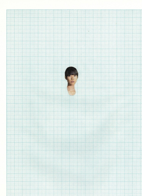 Ideas Face on Graph Paper