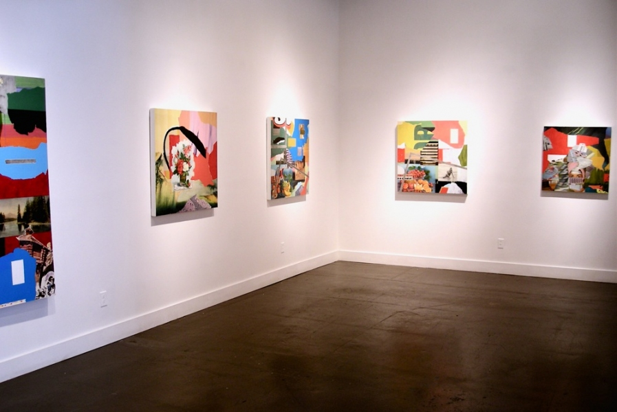 Work Jáce Gáce installation view