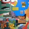 Work oil, acrylic and collage on canvas