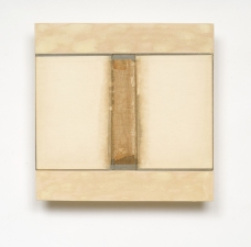 John Fraser work in relief Graphite and Acrylic on Collaged Papers and Board, Mounted to Wood Construction