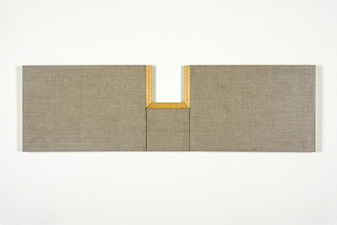 John Fraser paintings Graphite, Acrylic, On Linen, On Panels, Wax On Found/Altered Architect Scales