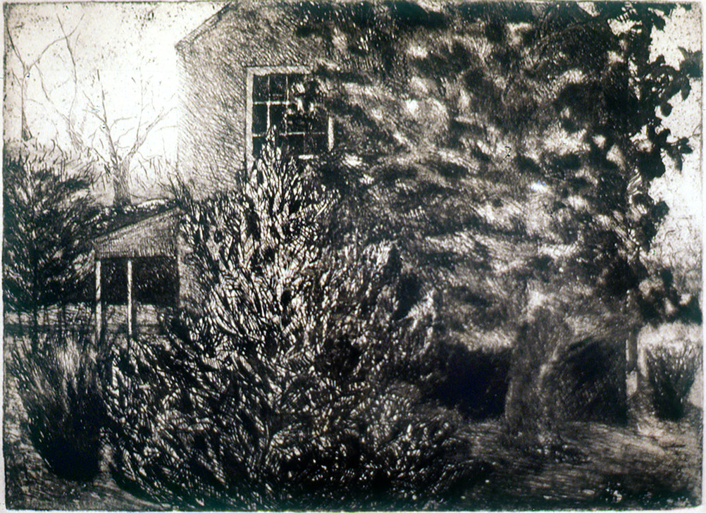 John Hundley Greer Etching