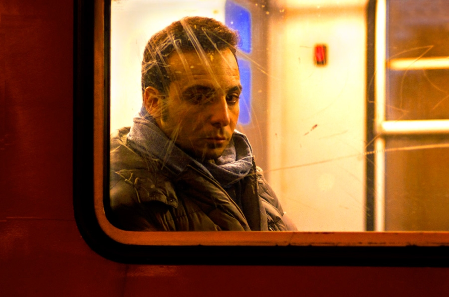 Tram portraits Untitled #11 Milan