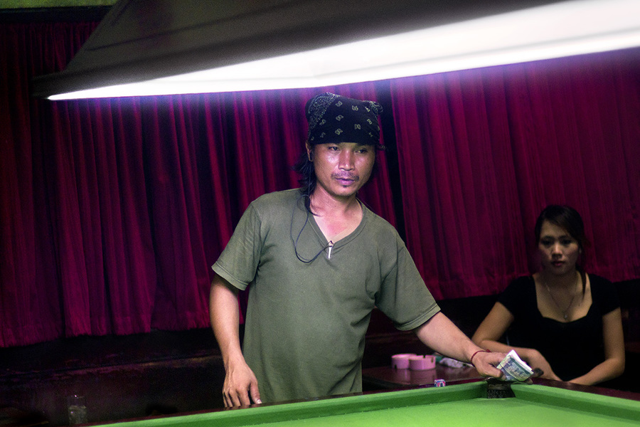 Asian snooker Untitled #11 Bangkok