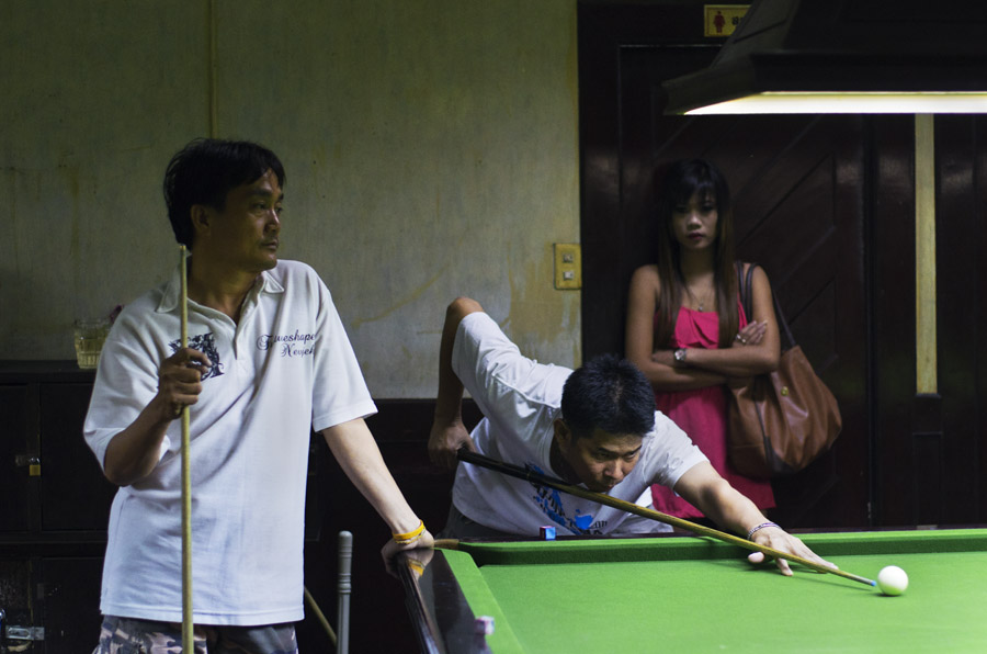 Asian snooker Untitled #8 Bangkok