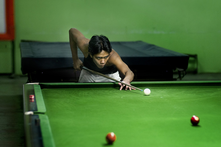 Asian snooker Untitled #1 Yangon