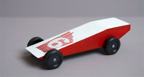 Pierogi Gravity Racer Side view left