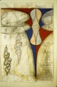John Newman  Drawing - 1980-1989 Chalk, pastel, and pencil on paper
