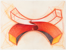 John Newman  Drawing - Recent Work China marker, colored pencil and chalk on paper.