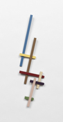 John Pittman Wall Constructions 2003 - 2010 Painted Maple