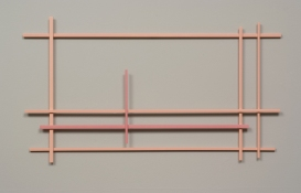 John Pittman Wall Constructions 2003 - 2010 Enamel on maple