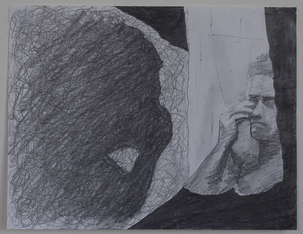 Jon Marshalik Drawing Store graphite on paper