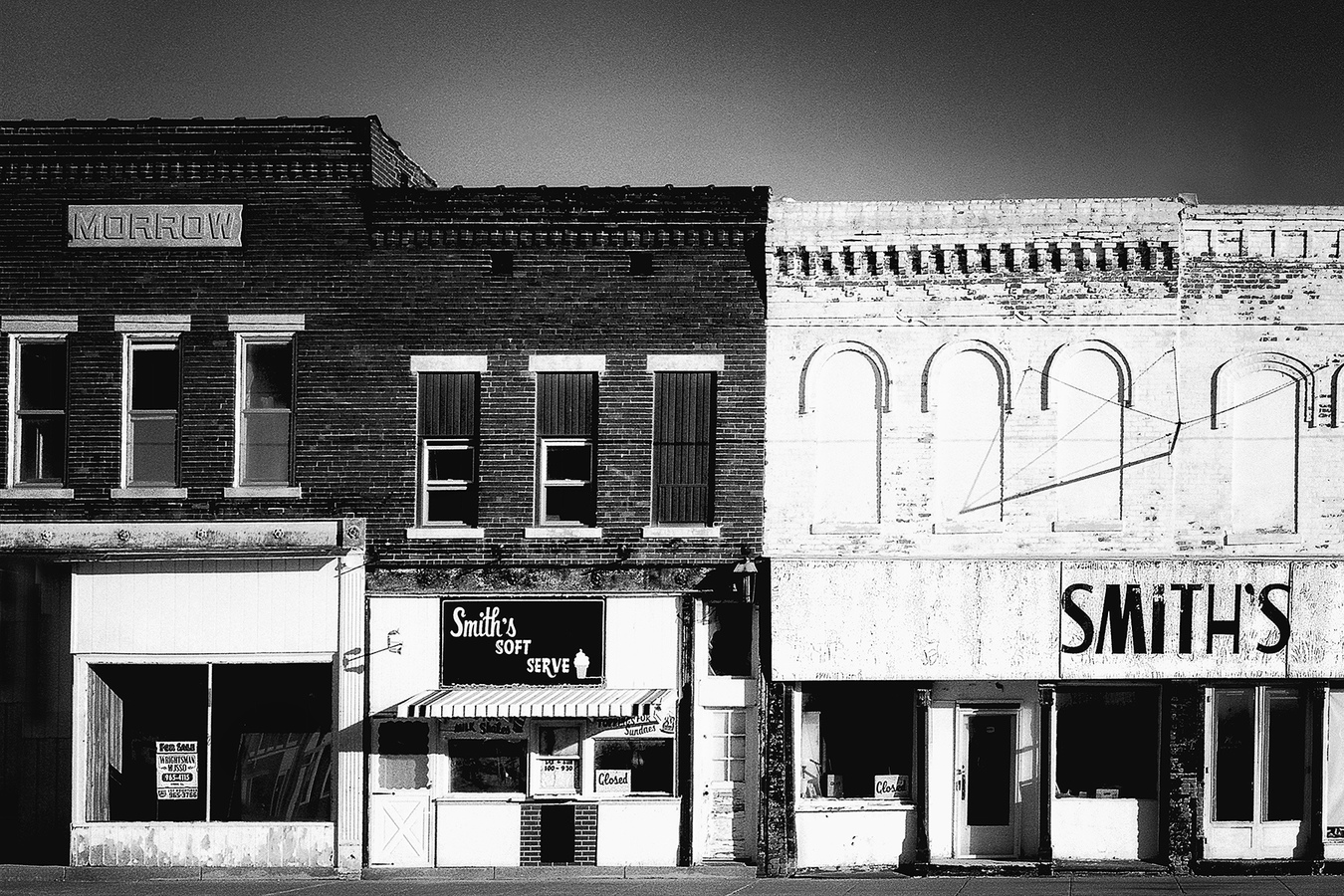Conceptual Gallery   The Crisis in Our Small Towns:  Smith's Is Indeed Closed  ©