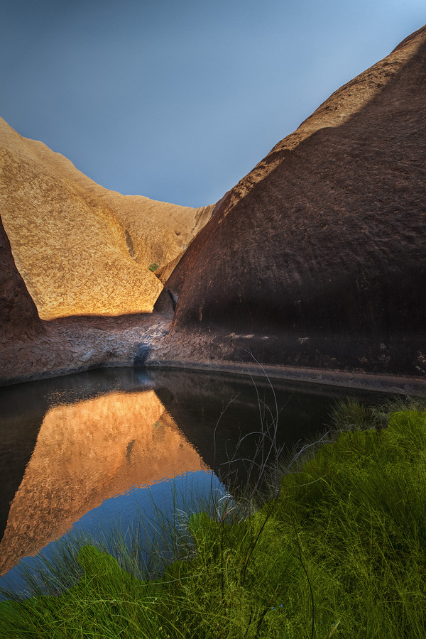 Landscapes Gallery Oasis in Uluru 2  ©
