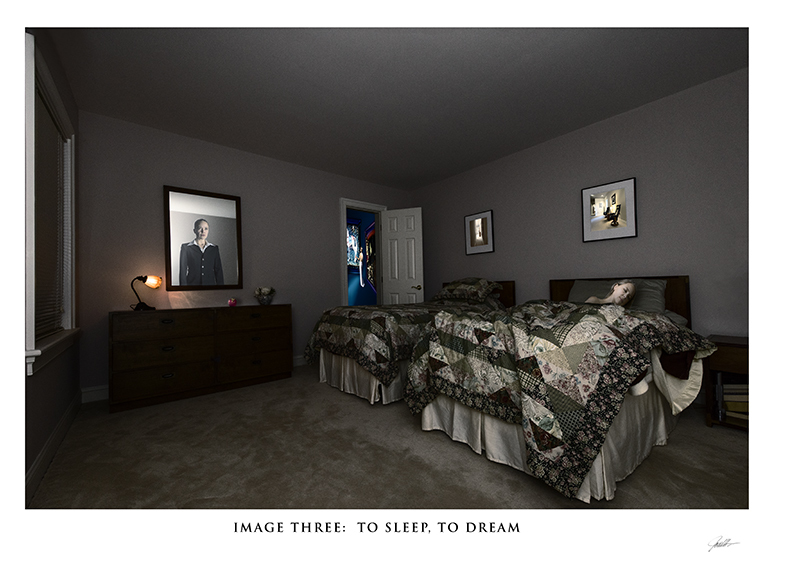 In the Mind's Eye: a Gallery with a Series of Images in Album Format  In the Mind's Eye:  Image Three:  To Sleep, To Dream  ©