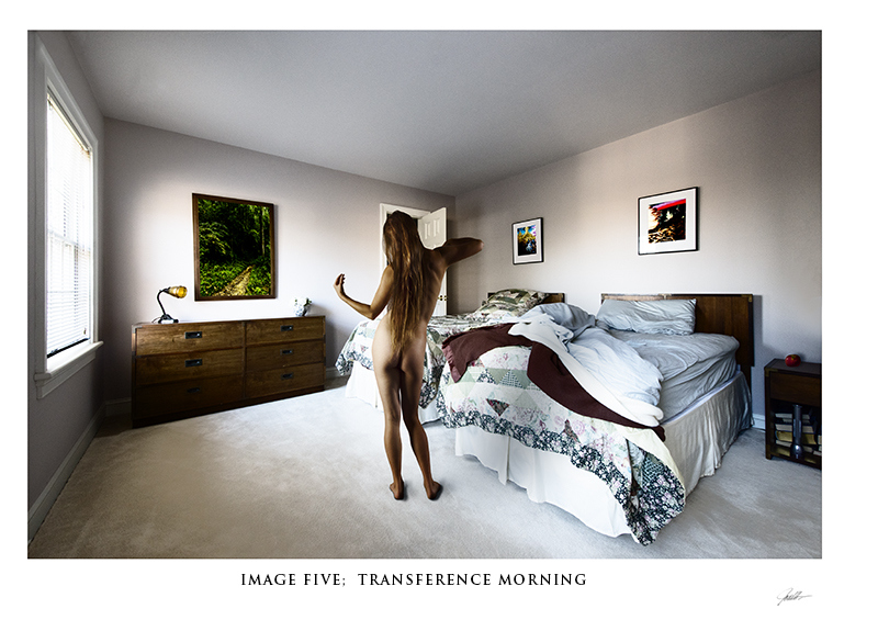 In the Mind's Eye: a Gallery with a Series of Images in Album Format  In the Mind's Eye:  Image Five:  Transference-and Countertransference-Morning  ©