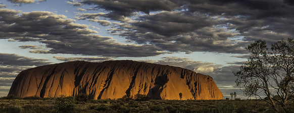 Uluru at Sunset  ©