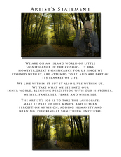 Artist's Statement:  Woodland Series  ©