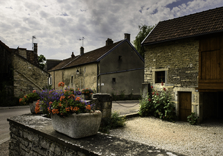 Flowers in a Burgundy Village  ©