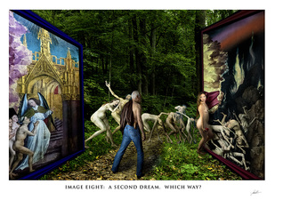 In the Mind's Eye:  Image Eight:  A Second Dream in Analytic Space and Time  ©