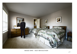 In the Mind's Eye:  Image One:  Self-Reflection  ©