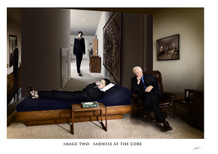 In the Mind's Eye:  Image Two:  Sadness at the Core  ©