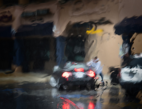 Car and Rain Series:  Image Seven  ©