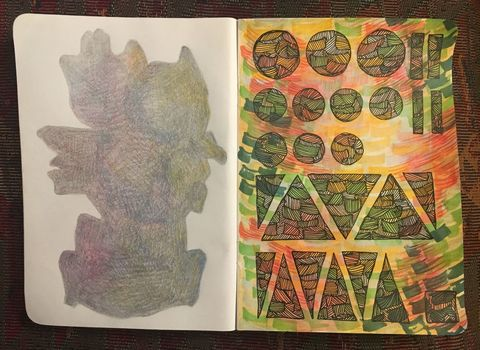 Jordan Acker Anderson Sketchbook Work